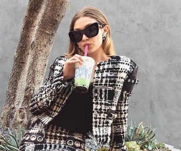 Gigi Hadid Bubble Tea