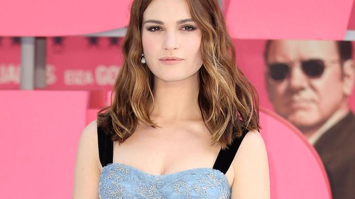 Lily James London