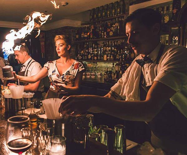 winter cocktail menu