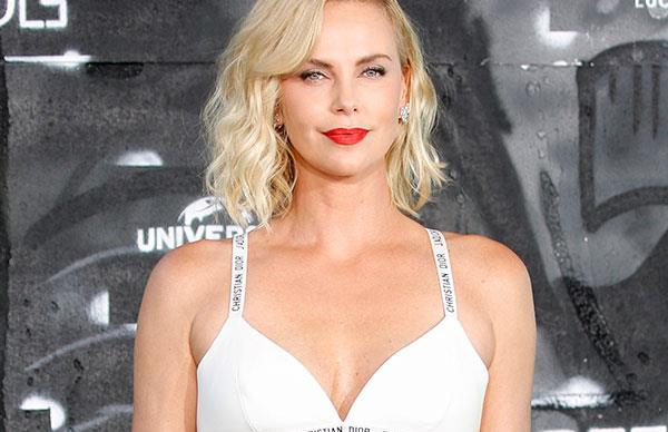 Charlize Theron Cannes.