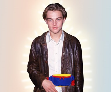 Leonardo DiCaprio's Plastic Bag Fanny Pack Is The Only Fanny Pack I Could Ever Genuinely Approve Of