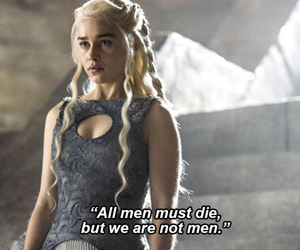 game of thrones feminist