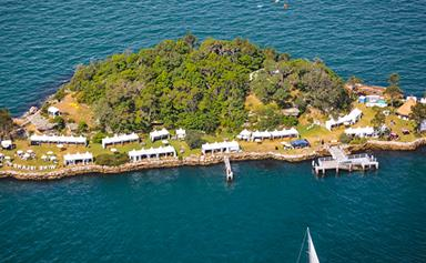 There Is Now An Island Dedicated To Wine In Sydney