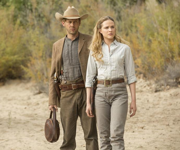 Young William and Dolores on Westworld
