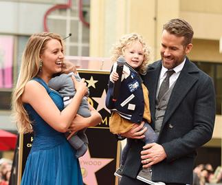 Blake Lively, Ryan Reynolds and daughters