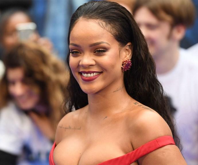 Rihanna at Valerian Premiere