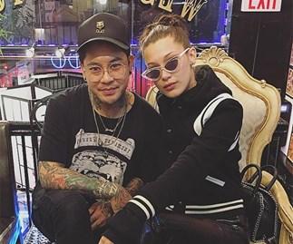 Bella Hadid and Jonboy Tattoo