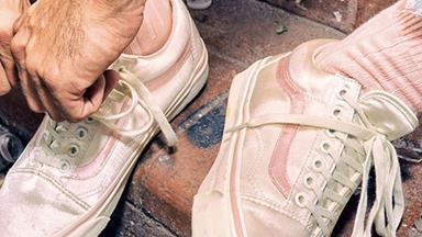 Here's How You Can Get Your Hands On A Pair Of Pink, Satin Old Skool Vans