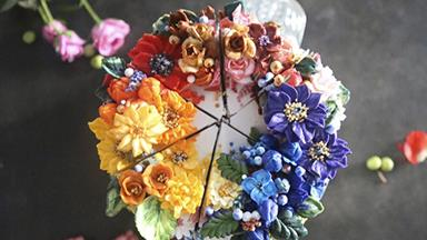 These Floral Cakes Will Upstage Your Wedding Bouquet