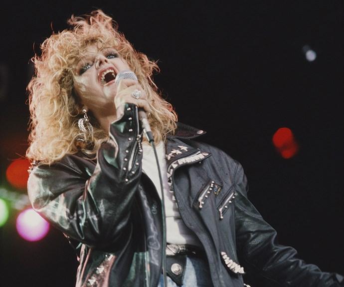 Bonnie Tyler.