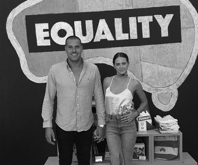 Jesinta and Buddy Franklin Marriage Equality