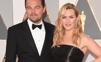 Leonardo DiCaprio and Kate Winslet.