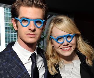 Emma Stone and Andrew Garfield.