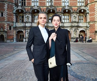 St Vincent and Cara Delevingne.