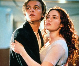Kate Winslet and Leonardo DiCaprio.