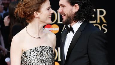 Existential Question: Why Are Kit Harington And Rose Leslie So Damn Cute?