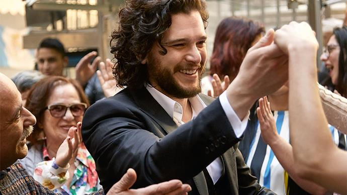 Kit Harington for Dolce & Gabbana.