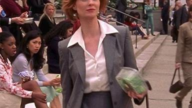 Categorical Proof That Everyone At New York Fashion Week Is Dressing Like Miranda Hobbes