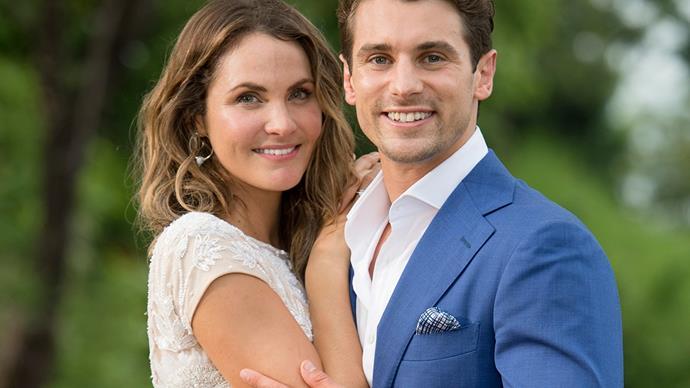 Matty J and Laura on The Bachelor Australia
