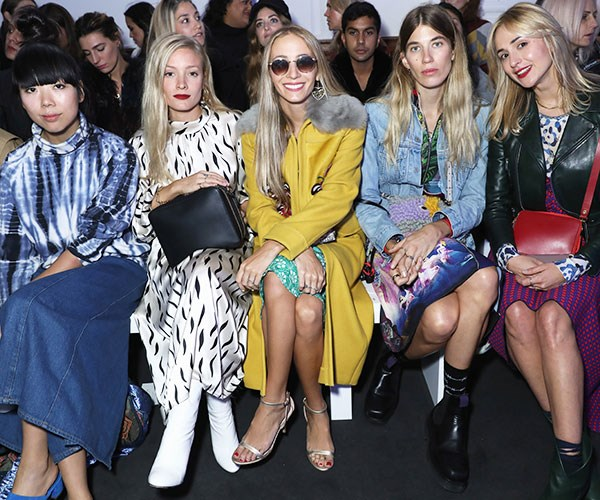 London Fashion Week Front Row SS18