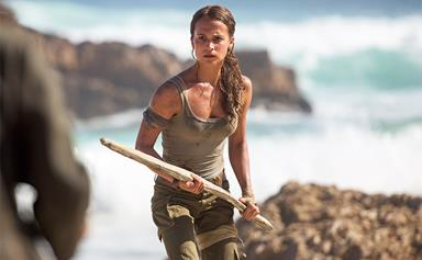 There's Something Off About Alicia Vikander In The New Tomb Raider Poster