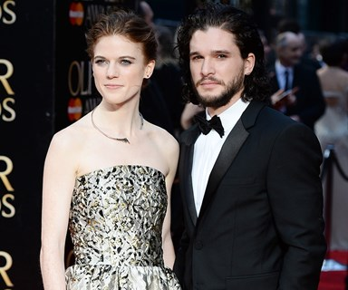 Kit Harington And Rose Leslie's Engagement Announcement Is So Cute It's Painful