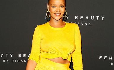 Rihanna Grabs A Late Night Dinner in London With Billionaire Beau