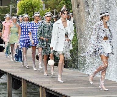 Karl Lagerfeld Just Delivered Another Stellar Chanel Show