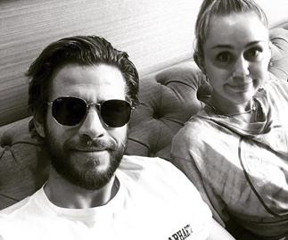 Miley Cyrus Liam Hemsworth couple pic