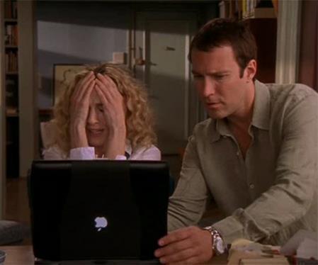 Carrie Bradshaw Laptop