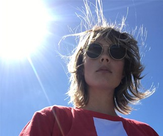 Edie Campbell Hair