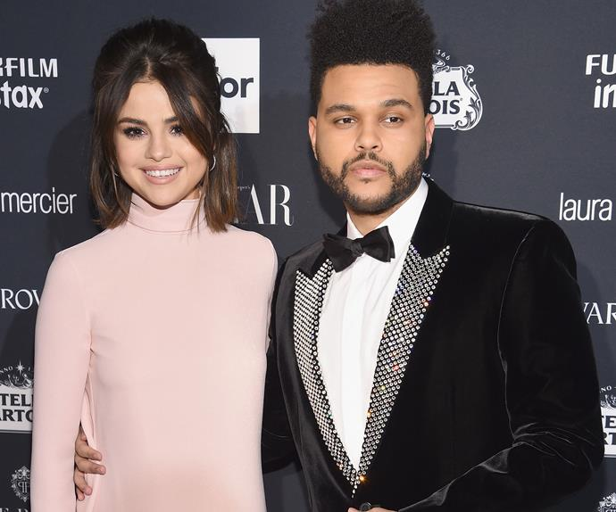 The Weeknd Selena Gomez