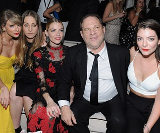 Harvey Weinstein Lorde Taylor Swift
