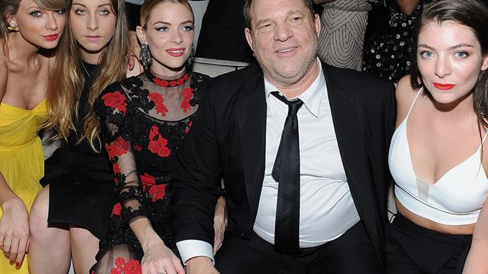 Harvey Weinstein Lorde Taylor Swift