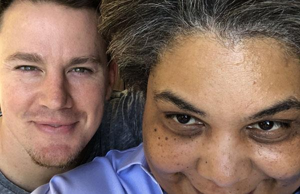 Channing Tatum Roxane Gay