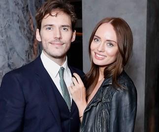 Sam Claflin and Laura Haddock.