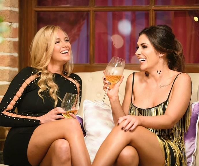 Leah Costa and Jen Hawke on The Bachelor Australia 2017