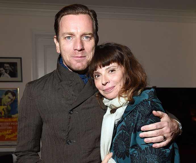 Ewan McGregor and Eve Mavrakis.