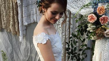 'Sea Of Shoes' Blogger Jane Aldridge Had The Chicest Backyard Wedding