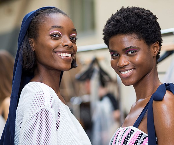 Paris Fashion Week backstage beauty