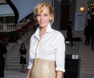 """Uma Thurman Won't Talk About Sexual Harassment In Hollywood Until She Feels """"Less Angry"""""""