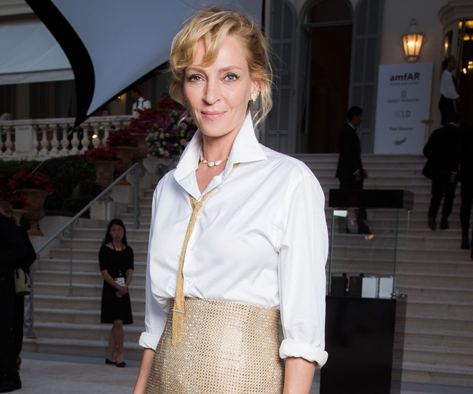 "Uma Thurman Won't Talk About Sexual Harassment In Hollywood Until She Feels ""Less Angry"""