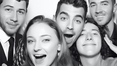 The Best Photo Booth Snaps From Sophie Turner And Joe Jonas' Engagement Party