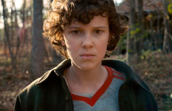 Eleven on Stranger Things 2