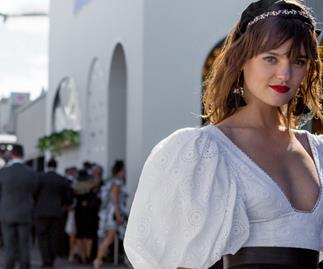 All The Best Dressed Celebrities At AAMI Victoria Derby Day