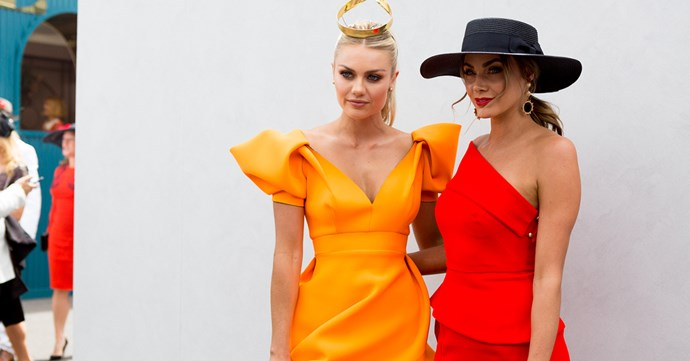 Celebrity Outfits Melbourne Cup 2017