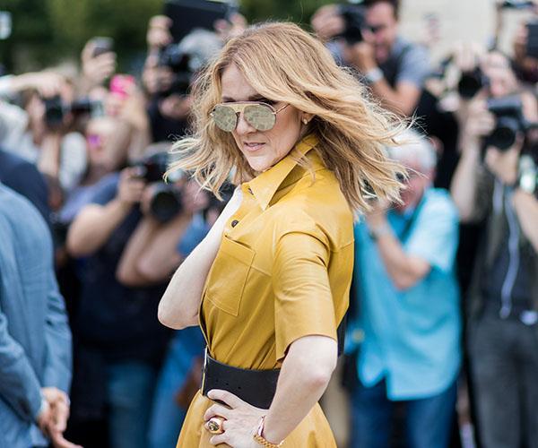 Celine Dion fashion Paris Dior