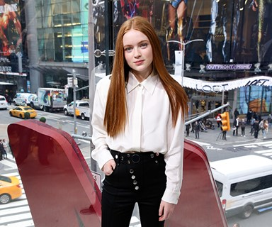 Sadie Sink Speaks Out About Her 'Stranger Things' Kiss Controversy