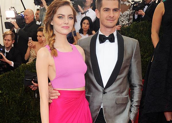 Emma Stone And Andrew Garfield Reunite