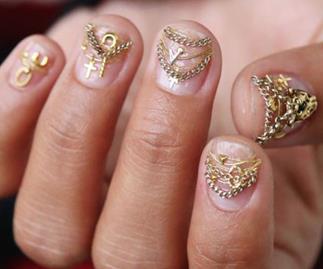 Unistella nail art